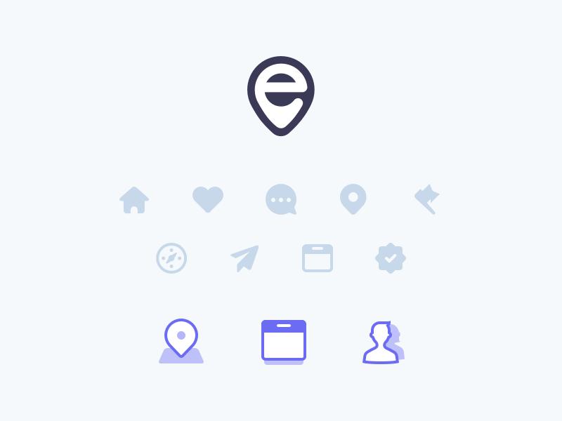 E icons