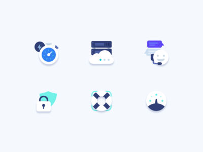 Platform - Icons server help speed fast hosting dashboard security support design icon icons