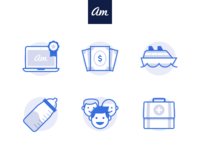 Awesome Motive Icon Set