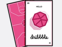 Hello Dribbble, Playing Cards