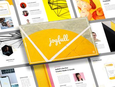 Joyfull Creative Business Presentation Design