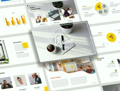 Vision Creative Business Presentation Design