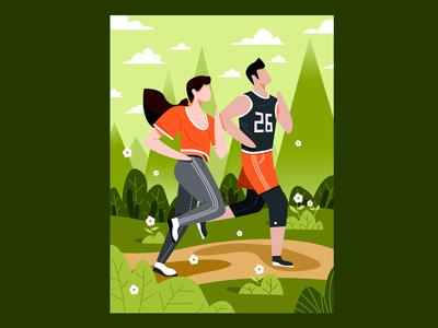 Running Couple 💑 — 02