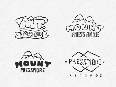 Mount Pressmore Logos
