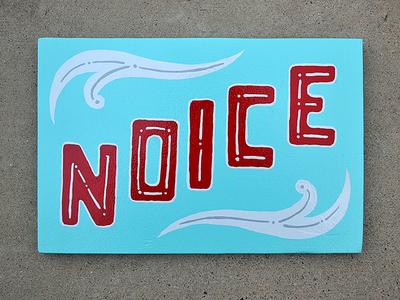 Noice filigree illustration drawn hand ornament paint sign noice