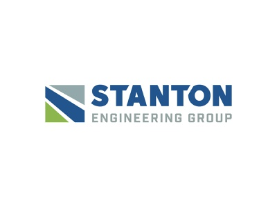 Stanton Engineering Group Logo icon branding typography design logo