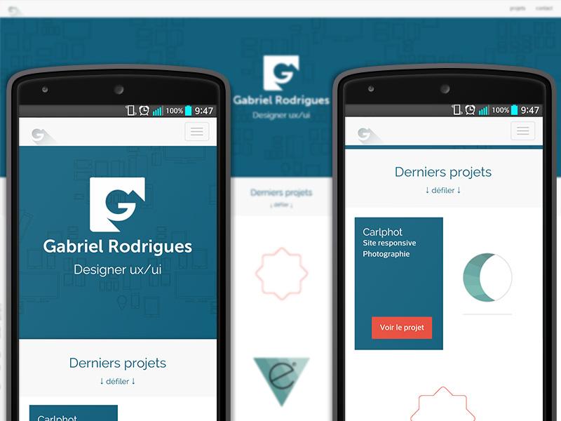 New responsive portfolio ! website responsive webdesign portfolio identity