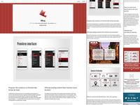 New responsive portfolio, page
