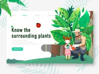 A web page about plants