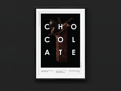 Dolcenero – Poster 1 black mexico city mexico avenir typography type diseño design cartel poster