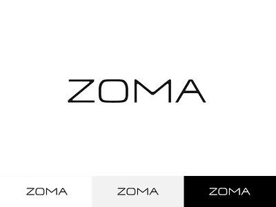 ZOMA –Logotype minimalism typography type logotype logo