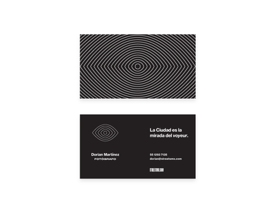Streets MX –Cards mexico op art typography cards design