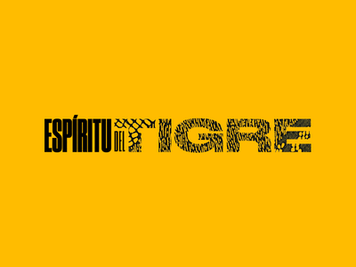 Spirit of the Tiger druk jaguar mezcal mexico minimalism typography identity branding logo