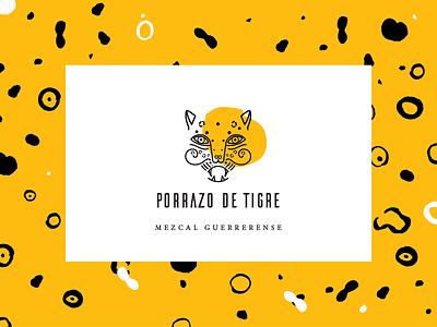 Porrazo de Tigre –Mezcal Guerrerense texture mexico mezcal tiger branding
