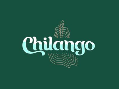 Chilango food truck mexico identity type design typography logo branding
