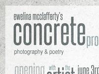 concrete prose