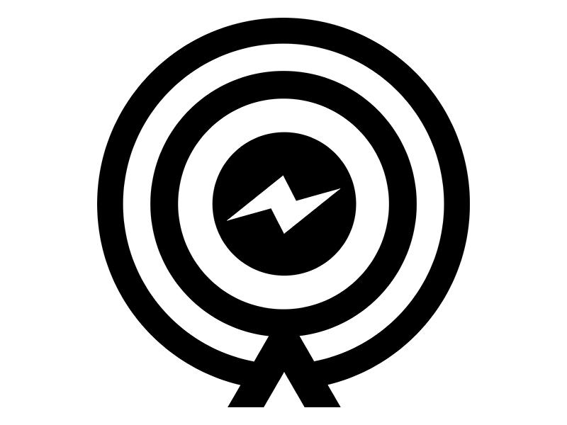 St logo black