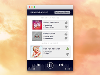 Pandora One Mini Player