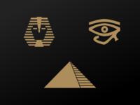 Pharaoh Logo Concepts