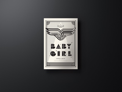 2020 AIGA Jacksonville Design + Music Poster Show freebies free download freebie negative space linework blm song baby girl halftone social wings custom type black and white illustration posters gig poster music