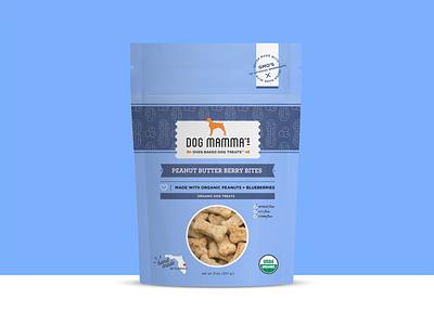 Dog Treats packaging organic food organic dog treats dog brand design branding brand identity logo pattern icon package food package design label design icons illustration