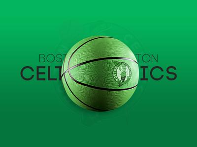 Boston Celtics Basketball Mockup interaction design web mockup basketball celtics boston