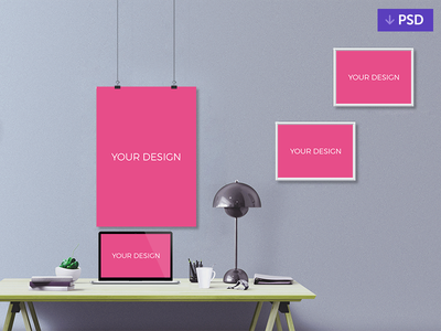 Free Mockup PSD interaciton webdesign design web psd mockup