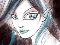 Vampire Elf Girl
