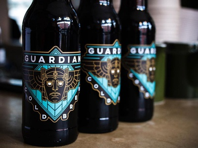Guardian Cold Brew Label