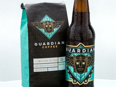 Guardian Cold Brew Coffee Packaging
