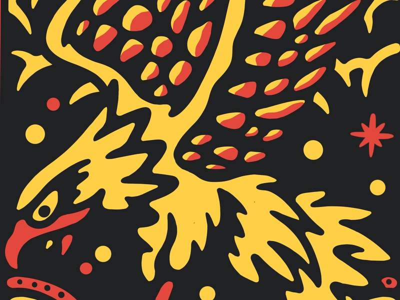 Space Eagle by Mixergraph on Dribbble