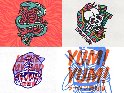 2018 snake noodles bandmerch logo japanese japan band logo band skate design hardcore graphic design old school tattoo punk music lifestyle apparel illustration artwork