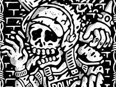 Rancid Gigposter hardcore graphic design old school tattoo punk music apparel lifestyle illustration artwork