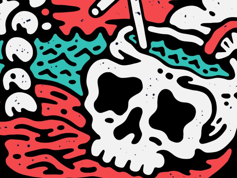 Puk 2 hardcore graphic design old school tattoo music punk lifestyle apparel illustration artwork