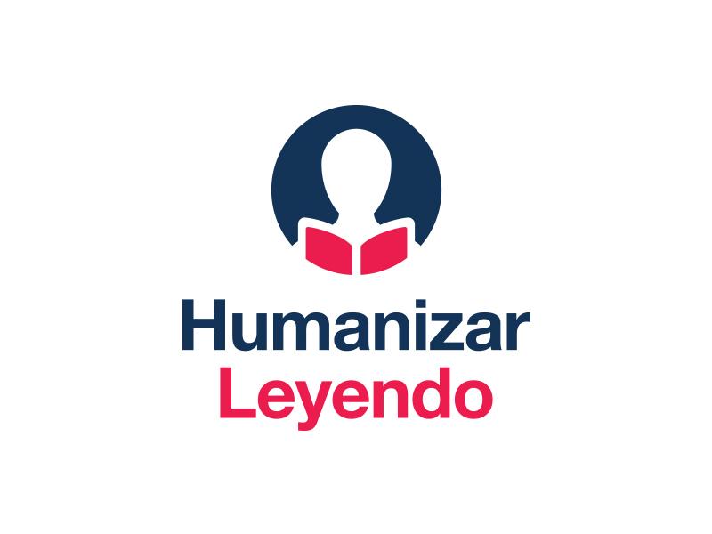Humanizar Leyendo branding clean geometric identity logo logotype minimal modern