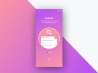 Daily UI: Onboard Screen