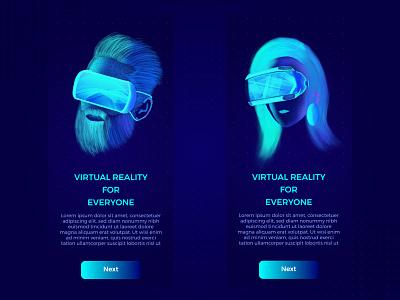 VR UI virtual reality userinterface ux ui startup software vr lalit interface india designer design application