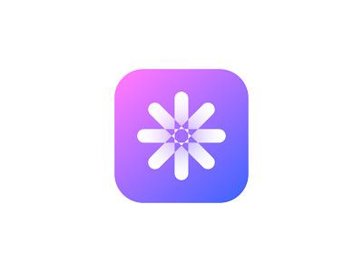 Meditation App Icon brand design logo chakra smooth meditation app icon design lalit designer india