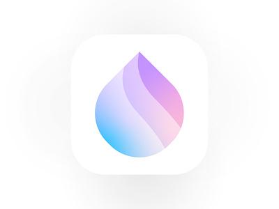 Meditation AppIcon wellness calm water meditation logo design logo brand identity logo designer branding print design lalit designer india