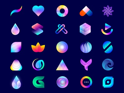 Best LogoIcons best logo designer simple startup fintech saas futuristic creative modern colorful beautiful logo design logo brand identity logo designer branding print design lalit designer india