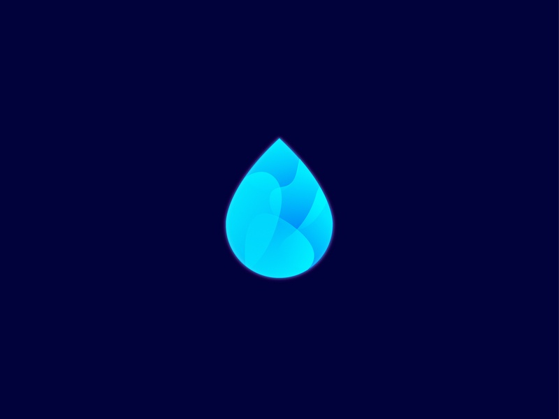 Drop Logo Icon