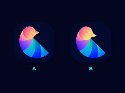 Bird App Icon branding design branding bird logo bird appicon logodesign logo brand identity logo designer india designer