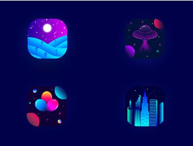 App icons print logos app icons unique designs appicons design logodesign branding design lalit logo logo design brand identity branding india logo designer designer