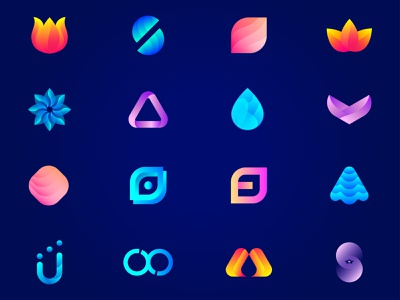 Logo Icon Foilio futuristic best top amazing morden smart creative branding design lalit logo logo design brand identity logo designer branding designer india