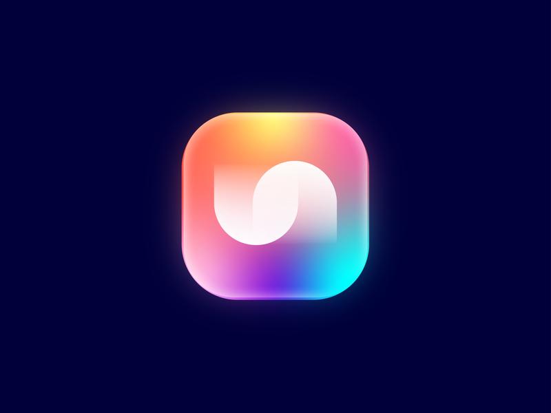 U + N graphic design graphics graphic app icon appicon logodesign logotype un n u design lalit logo logo design print brand identity logo designer india branding designer