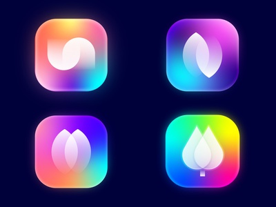 App Icons simple clean logo creative ios app icon fresh color amazing design app icon lalit logo design print brand identity logo designer branding india designer