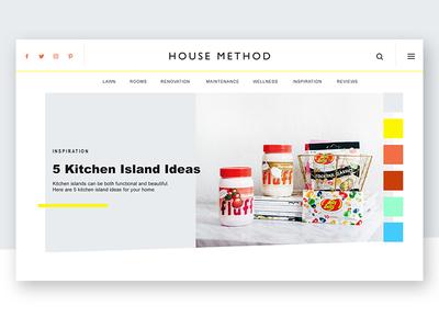 House Method Branding + Web Design