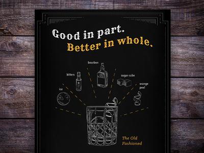 Custom Illustration- Cocktail Gift Boxes