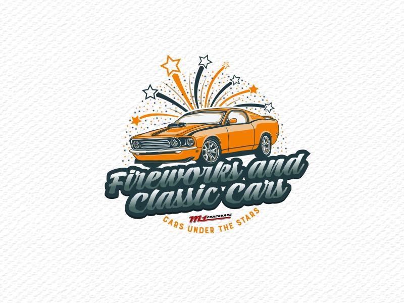 3 otomotiv design logo fireworks car