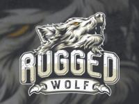 masculine logo of a wolf